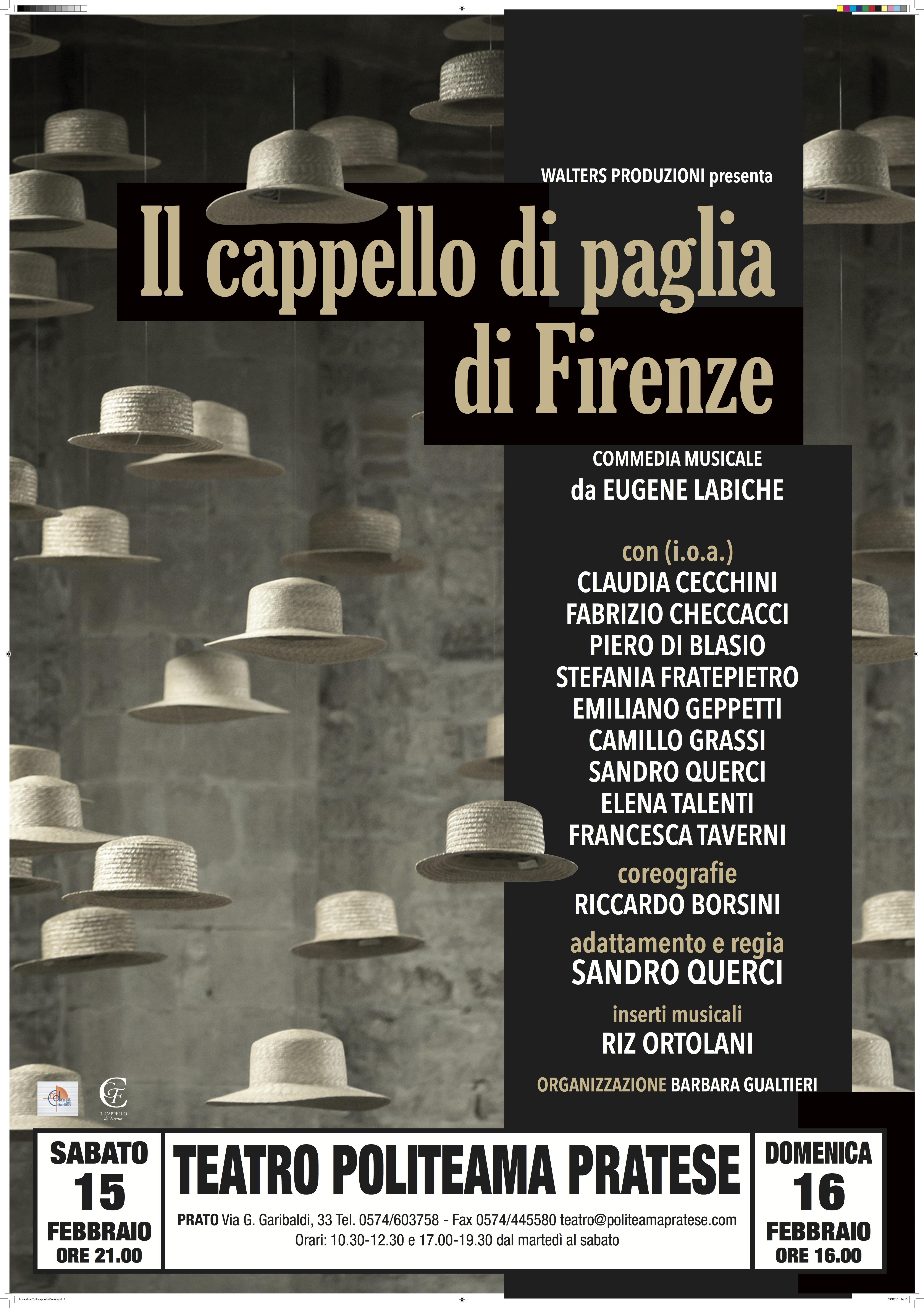 Locandina CAPPELLO Prato