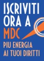 Iscriviti a MDC!