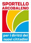 Il logo del progetto Sportello Arcobaleno