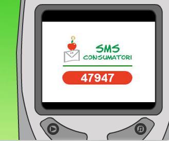 Il logo del progetto Sms Consumatori